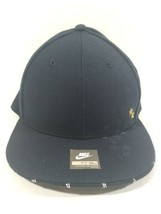 NIKE HAT BLUE FITTED VINTAGE CAP 90'S 256595 400 Size 7 3/4 - $19.99