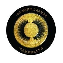SamHelen 100% Handmade Siberian Mink Eyelashes | Blossom | Reusable 3D M... - $24.54
