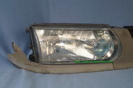 93-94 Nissan Tsuru Sunny Sentra B13 Headlights Head Light Lamps Set L&R w/ Grill image 8