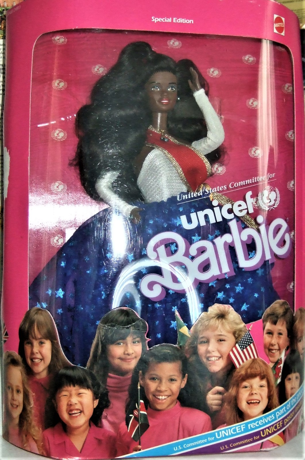 Barbie Doll - UNICEF Barbie AA