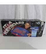 Vtg Star Trek The Next Generation PC Keyboard Paramount Pictures 1994 Bl... - $98.95