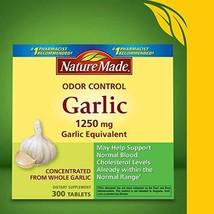 Nature Made Odor Control Garlic, 300 Tablets - $30.79