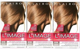 3 Count Clairol L'Image Ultimate High Intensity Colorshine  828 Dark Blond Perm - $26.99