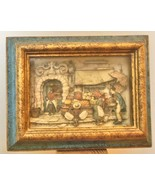 "Anton Pieck 3 D Picture Shadow Box Framed 9.5 x 7.5"" Complete - $24.00"
