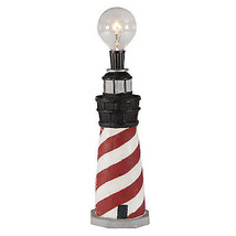 FREE SHIP: Mini Lighthouse Accent Lamp Upcycled... - $56.10