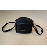 Sony Mavica Digital Camera Case Black Genuine/OEM Leather Nylon - $24.37