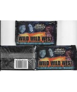 Wild Wild West Movie Three Trading Card Packs 9 Cards/Pack SEALED 1999 S... - $9.74