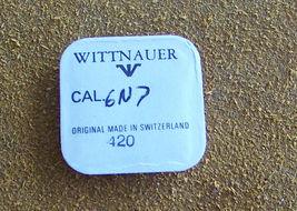 Wittnauer Cal. 6N7 Part #420 Crown Wheel Watch Part  - $7.00