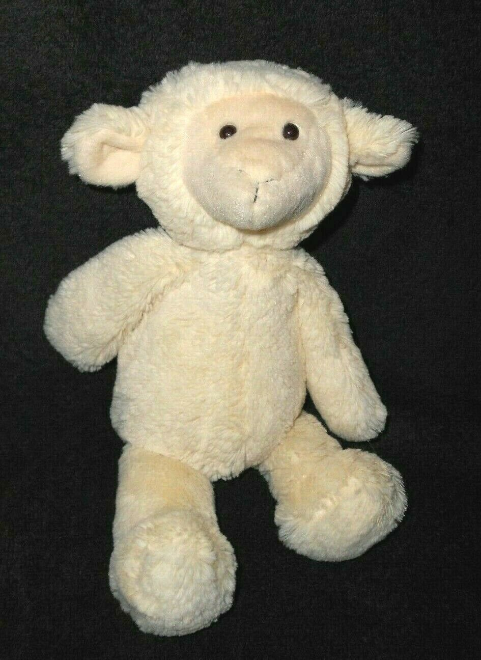 Primary image for Manhattan Toy Lamb Plush Stuffed Animal Ivory Cream Color Floppy 2013