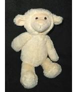 Manhattan Toy Lamb Plush Stuffed Animal Ivory Cream Color Floppy 2013 - $17.79