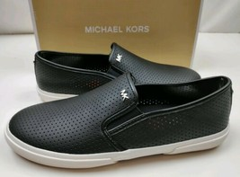 Michael Kors Women's Boerum Double Gore Leather Black Sz 8 RETAIL $125 - $58.41