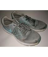 Womens NIKE RUN SWIFT Stealth Running Trainers 909006 004 Gray /Lt Blue ... - $49.97 CAD