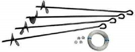 Anchor Kit for Storage Shed Tie Down - $29.88