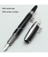 Luxury Germany Brand Pen mb-sw Black Resin Fountain Pen School Office St... - $26.99