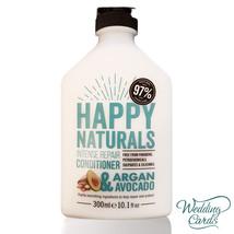 Intense Repair Argan Avocado Conditioner NO Parabens/SLS Happy Naturals ... - $15.88