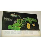 1966 Print Ad John Deere 1020 Tractors Hydraulic Hi-Lo Shift - $13.82