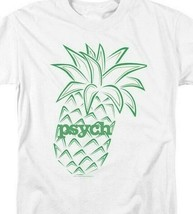 Psych Pineapple Symbol t-shirt humor Shawn Spencer graphic tee NBC588 image 2