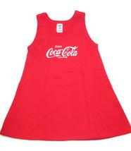 Coca-Cola Fleece A-Line Child's Sleeveless Dress Size 5/6  - BRAND NEW - $9.65