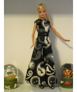 """11-1/2"""" Barbie Doll-Size Clothes New Paisley Halloween 1960s Design JUMP... - $14.99"""
