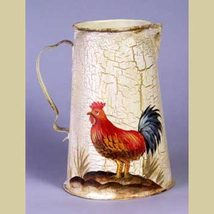 Rooster Pitcher - $16.95