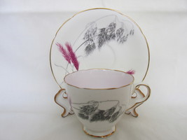 Vintage Old Royal English Bone China Cup & Saucer, 1940s - 1960s - $20.00