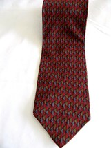 Jimmy V Collection Two Mens Dress Necktie By John Madden 100% Silk Made In USA - $12.86