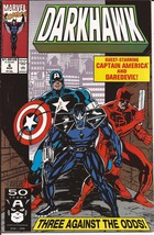 Marvel Darkhawk Lot Issues #6-10 Heart Of The Hawk Punisher Lodestone Da... - $14.95