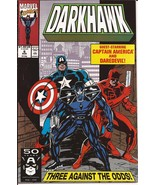 Marvel Darkhawk Lot Issues #6-10 Heart Of The Hawk Punisher Lodestone Da... - $14.95