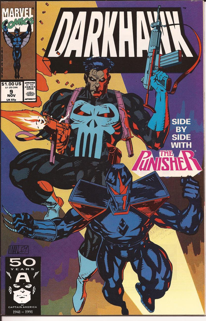 Marvel Darkhawk Lot Issues #6-10 Heart Of The Hawk Punisher Lodestone Daredevil