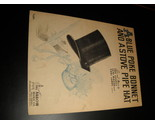 Sheet music a blue poke bonnet and a stove pipe hat eric correa 1944 arrow 01 thumb155 crop