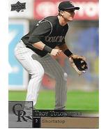 Baseball Card- Troy Tulowitzki 2009 Upper Deck #625  - $1.25