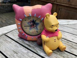 Extremely Rare! Walt Disney Winnie The Pooh Polyresin Alarm Clock Fig St... - $148.50