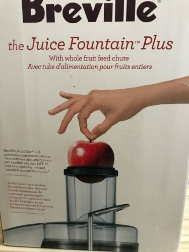 Breville Juice Fountain Plus Juicer Model JE98XL