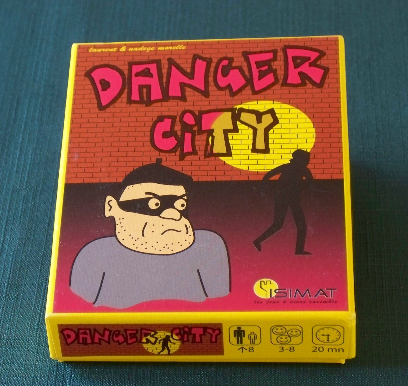 Primary image for Danger City Card Game Isimat 2005 Complete VGC