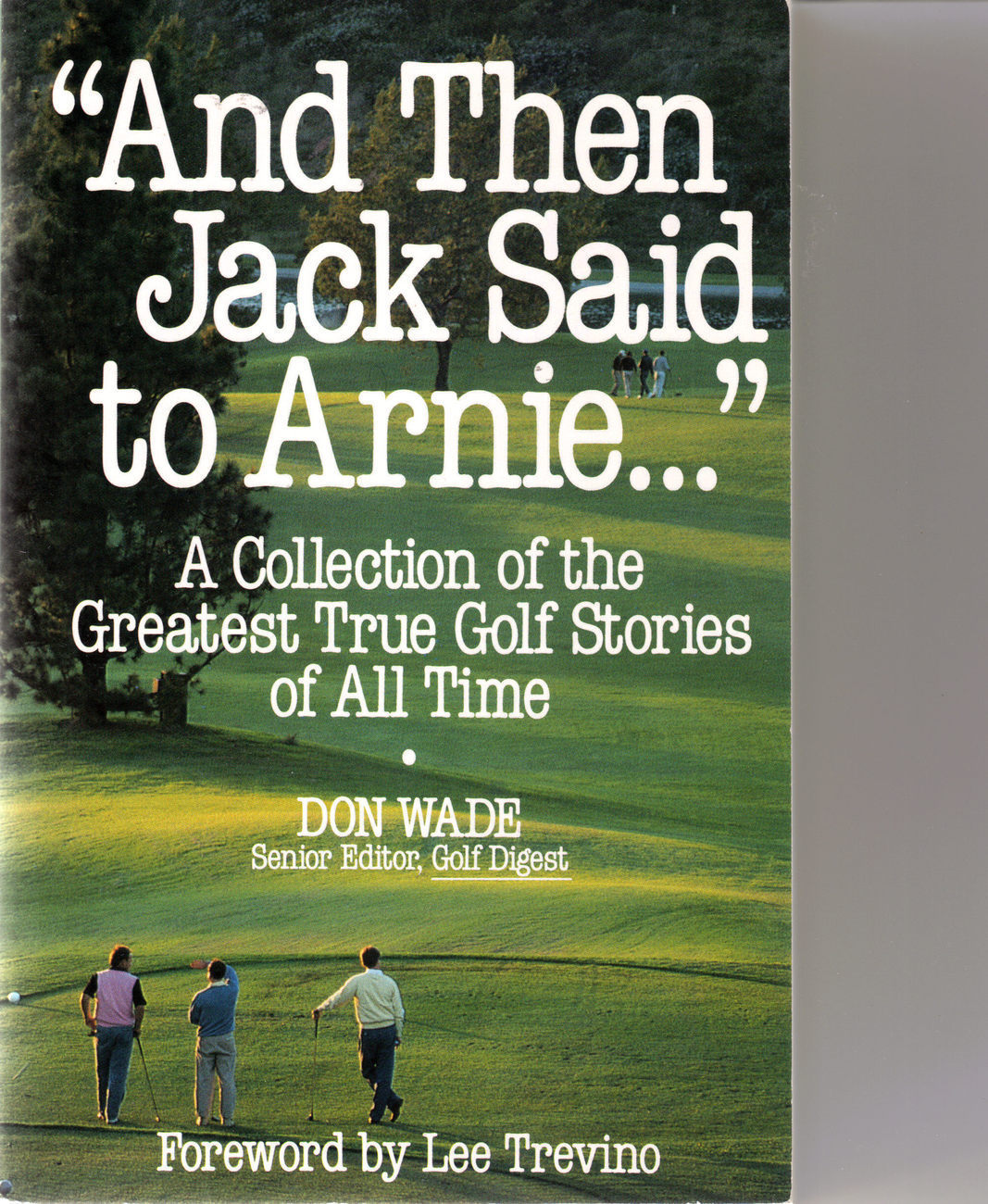 Jack said to arnie book