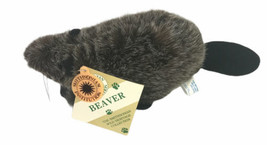 """Smithsonian Institute 10"""" Plush Stuffed Beaver With Tag Rare - $20.46"""
