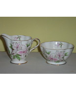 Vintage Windsor English Bone China Sugar Bowl & Creamer, 1950s - 1960s - $20.00
