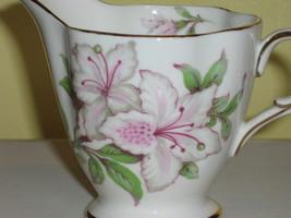 Vintage Windsor English Bone China Sugar Bowl & Creamer, 1950s - 1960s image 3