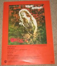 The Rose - Sheet Music - 1979 - Bette Midler - $8.99