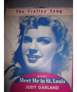 Vintage Sheet Music The Trolley Song - Judy Garland 1944 - $9.99
