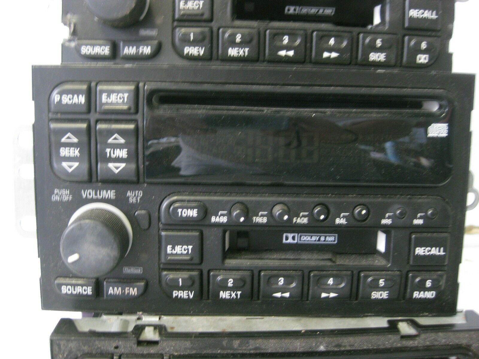 Delco Car Radio AM/FM Cassette CD Players 3 Units (A) OEM 16216424 16249434