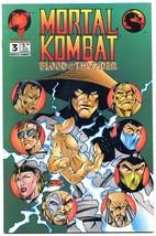 Mortal Kombat #3 1994- Malibu Comics Blood and Thunder NM - $18.62