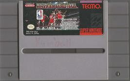 TECMO SUPER NBA BASKETBALL (SNES Super Nintendo 1993) Video Game Cartrid... - $9.99