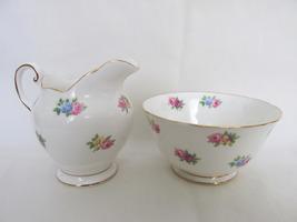 Vintage Tuscan English Bone China Sugar Bowl & Creamer - Late 1940s - $9.99