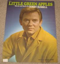 Little Green Apples Sheet Music - Bobby Russell - $8.99