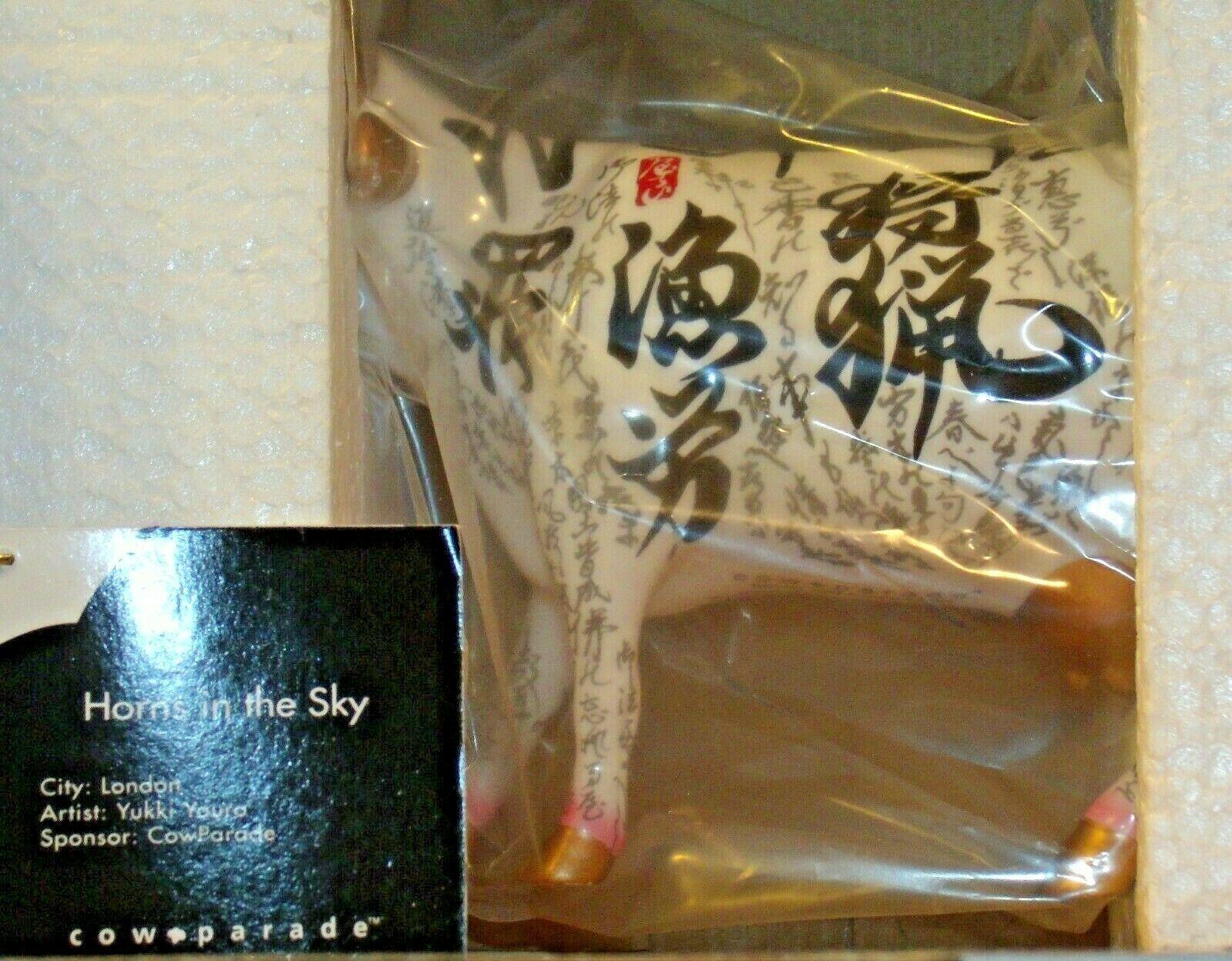 CowParade Horns In The Sky Westland Giftware # 7327 AA-191913 Vintage Collectib