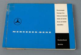 Vintage Mercedes-Benz 1960 Service Guide Manual - $29.65