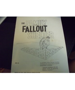 The Family Fallout Shelter Booklet from Office of Civil & Defense Mobili... - $25.00
