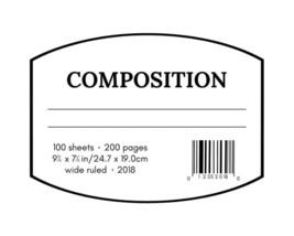 Comp. Book - $2.00+