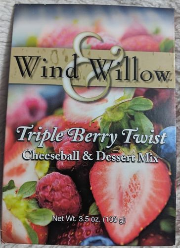 Wind And Willow Triple Berry Twist Cheeseball And Dessert Mix